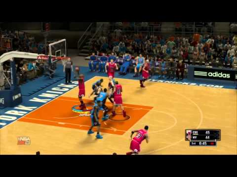 NBA 2K13 Michael Jordan 52pts vs The New York Knicks (Highlights)