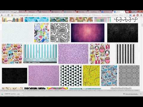 change colour bar graph to pattern