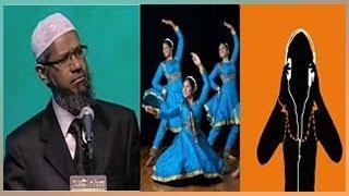 Peace TV - Dr Zakir Naik Urdu Speech -{Why Music is not allowed in Islam} Bayan in Hindi 2017 HD
