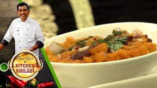 Sanjeev Kapoor Ke Kitchen Khiladi - Ep 18 - Stuffed Sabudana Vada & Lauki Kheer With Rasmalai