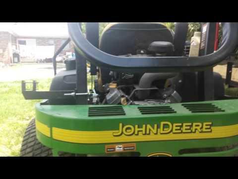 John deere 757 deck problem, trying to fix