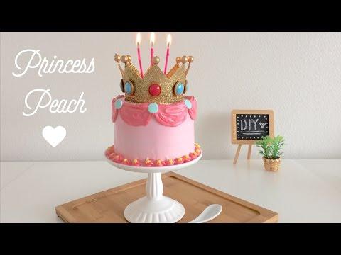 DIY Princess Peach Cake
