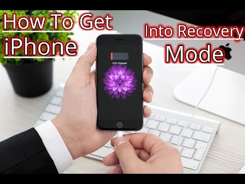 How to Get iPhone Or iPod Into Recovery Mode Simple Method🔥