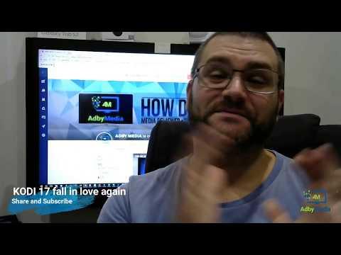 Fall in love with KODI 17.6  again