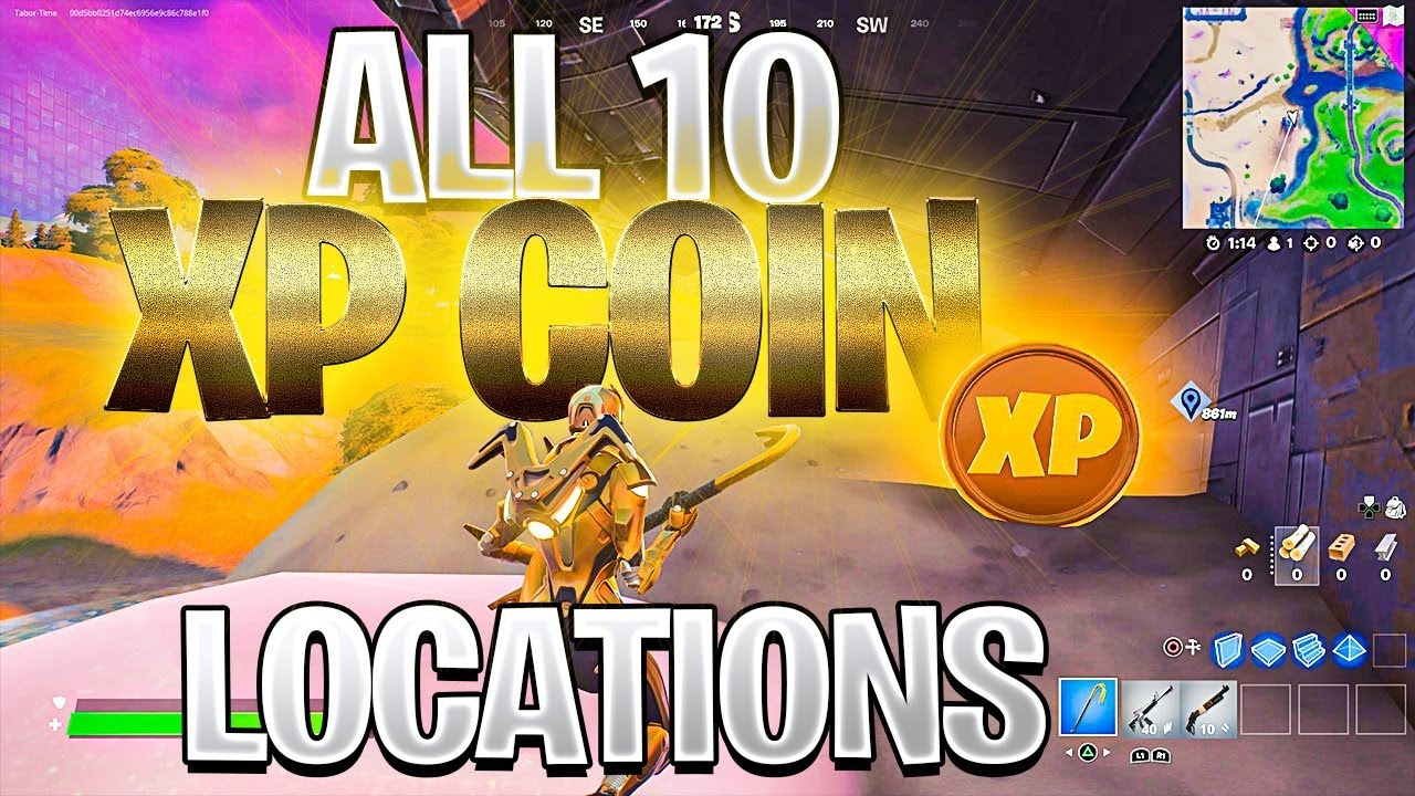 Fortnite Chapter 2 Season 5 ALL 10 XP COIN LOCATIONS (XP Coins Are Back!)