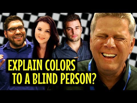 Can People Explain Colors To A Blind Person?