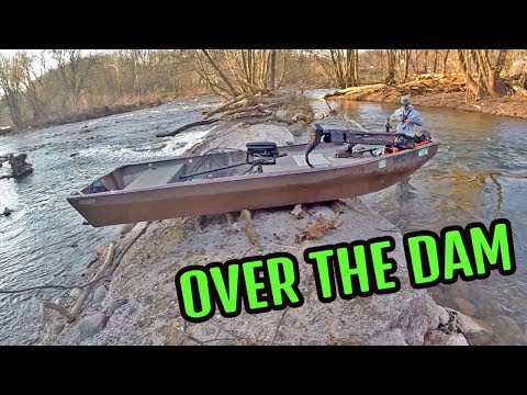 TREACHEROUS Adventure Over The Dam Hunting The Fish Of 10,000 Casts | MUSKIE HUNT VII | Gliders, DNR