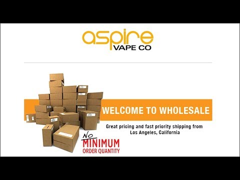 Aspire Store Locator Setup: Part 1 - Setting up Wholesale Account