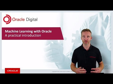 Machine Learning with Oracle