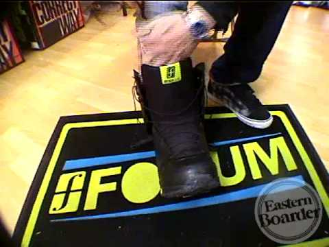 2009 Forum Kicker SLR Review - Speed Lace Snowboard Boot