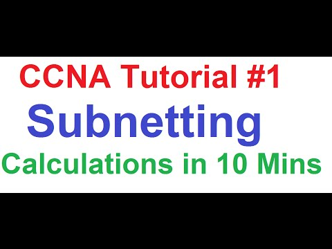 CCNA 1_Eleven Subnetting Calculations Explained in Just 10 Minutes!