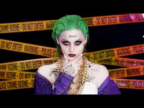 Joker Suicide Squad Makeup Tutorial