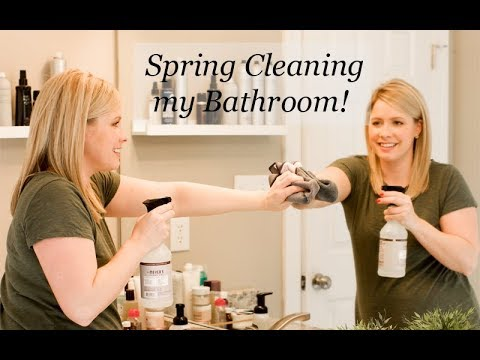 Spring Cleaning my Bathroom (sharing 3 tips you must try!)