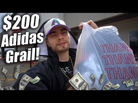 Trip to the Thrift #218 | $200 Adidas Grail Cop't! Nautica, Champion, and More!