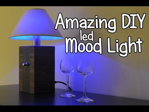 How to Make LED RGB Moodlight + Bulb Light at home!