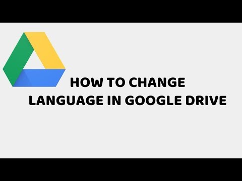 How to Change Language in Google Drive | Tutorials in Hindi