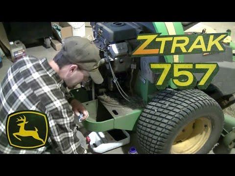 John Deere 757 ZTRAK Zero Turn Yearly Maintenance