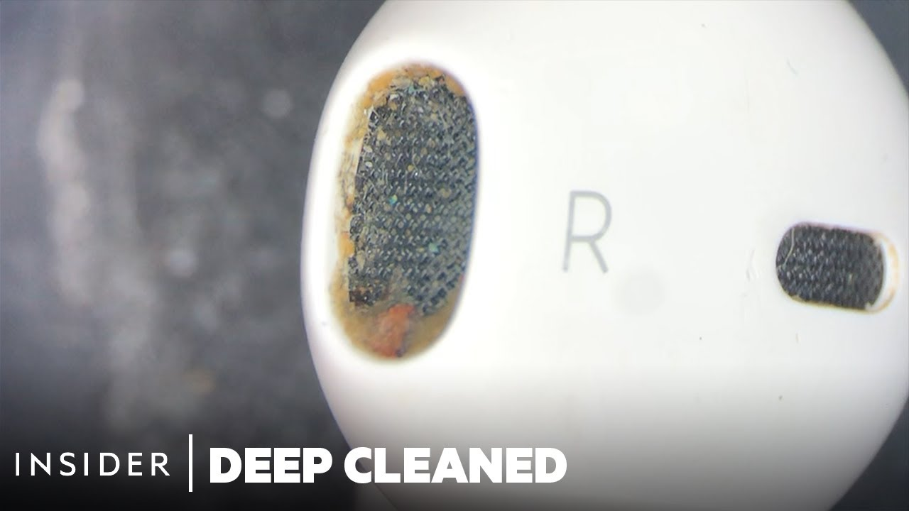 How AirPods Are Deep Cleaned | Deep Cleaned