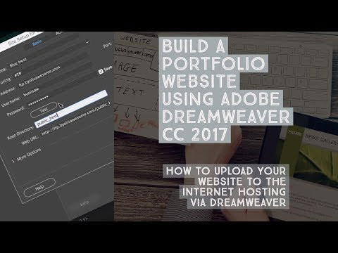 How to upload your website to the internet hosting via Dreamweaver - Dreamweaver Templates [35/38]