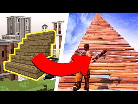 Fortnite Building in Minecraft!