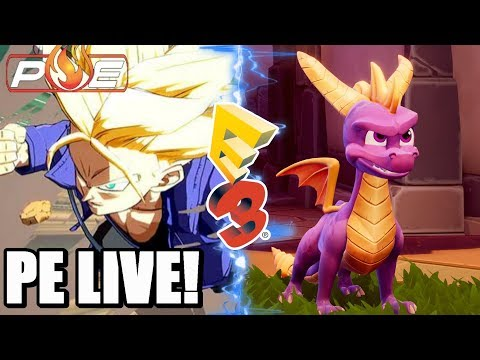 PE LIVE! - Road to E3 2018 Day 18 | Surprise E3 Games | 3rd Party Reveals + Q&A!