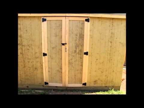 Off Grid Prepper Storage Shed/Workshop Construction Part 4 - Roof and Door