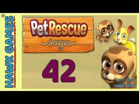 Pet Rescue Saga Level 42 Extra Hard - 3 Stars Walkthrough, No Boosters