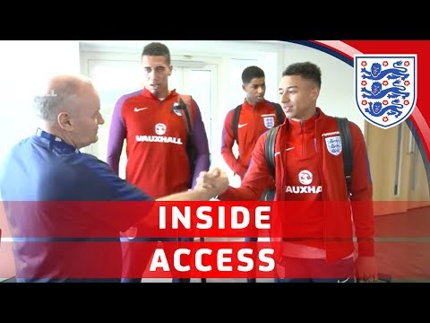 England arrive at St. George's Park ahead of Scotland & France games | Inside Access