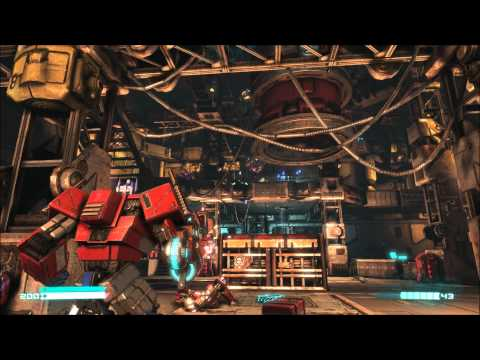 Transformers: Fall of Cybertron - Optimus Prime G1 - First Level