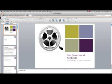 How to Make Powerpoint Master Template
