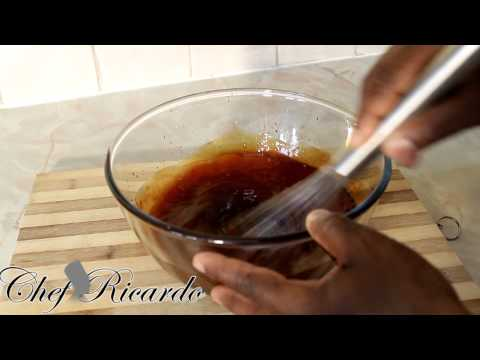 Sweet Chilli Sauce Bbq Chicken Served With Rice & Veg | Recipes By Chef Ricardo