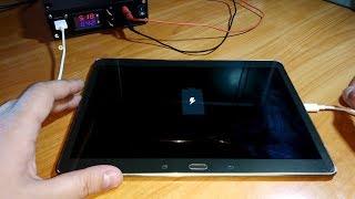 Не включается/не заряжается планшет Samsung Galaxy Tab S 10.5 (sm-t805)