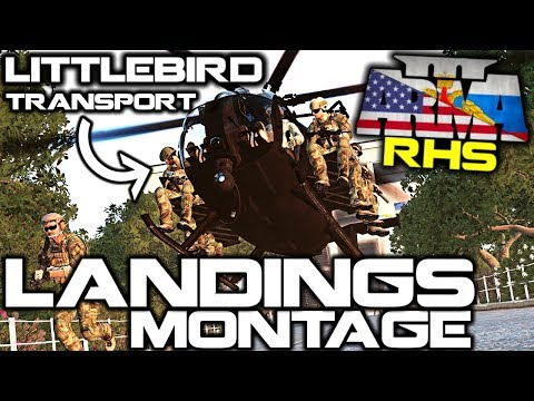 ArmA 3 RHS HELICOPTER MONTAGE™ ► KOTH LANDINGS EDITION - EPISODE TWENTY THREE