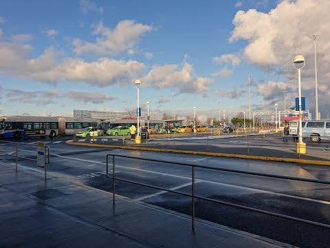 Tsawwassen terminal passenger loop timelapse