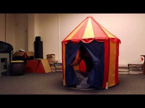 Circus Tent from Ikea and Elroy