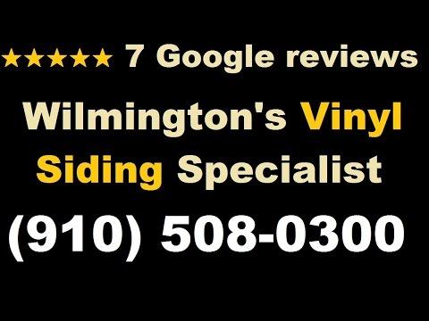 Vinyl Siding Wilmington NC    (910) 508-0300