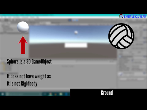 8. INTRO TO RIGID BODY & GRAVITY | BUILD VIRTUAL REALITY GAMES FOR GOOGLE CARDBOARD USING UNITY
