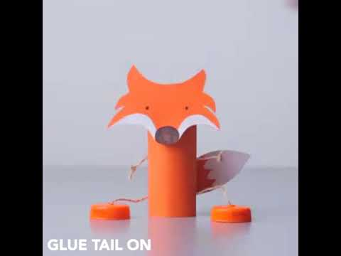 DIY Toilet Roll Puppets For Kids