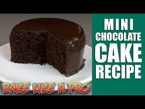 Easy Mini chocolate cake recipe