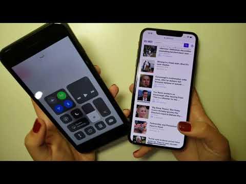 How to Rotate & Lock Screen iOS 12 iPhone XS Max