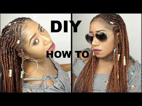 HOW I KEEP MY HAIR IN A PROTECTIVE STYLE    BRAIDS