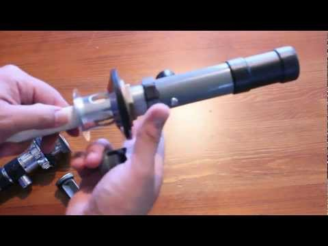 AZP: EASY!! Make a LightSaber from a Drain Pipe