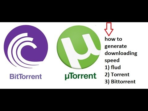 how to generate downloading speed Flud ,Torrent , Bittorrent apk android mobile hindi