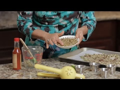 Spicy Roasted Pumpkin Seed Recipe : Salad Dressing & Healthy Eating