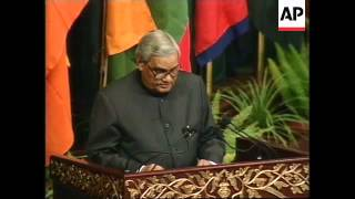 Wrap of summit opening with Vajpayee and Musharraf