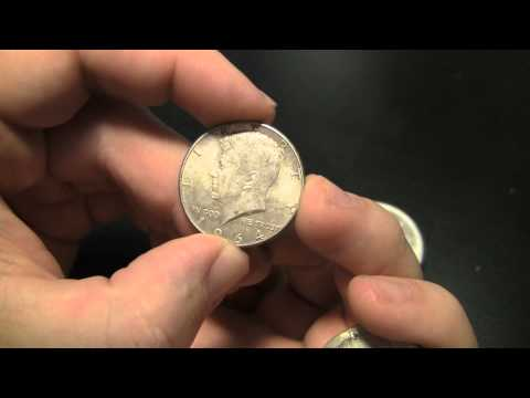 How to tell what US coins are SILVER