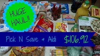 Weekly Grocery Haul & Meal Plan | $106.92
