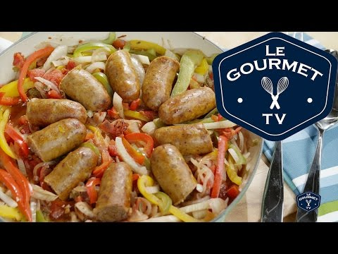 Sausage and Peppers One-Pot Recipe - Le Gourmet TV