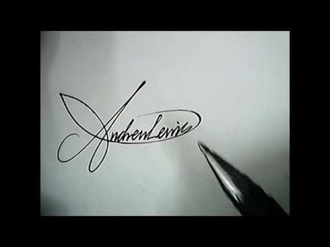 How to create a custom, amazing signature!