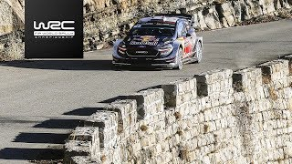 WRC - Rallye Monte-Carlo 2018: Highlights Power Stage SS 17